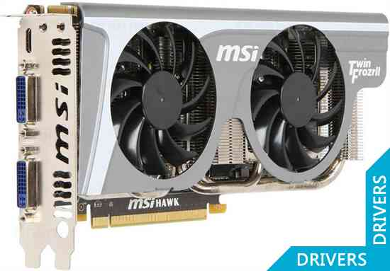 Видеокарта MSI GeForce GTX 460 1GB GDDR5 (N460GTX Hawk)