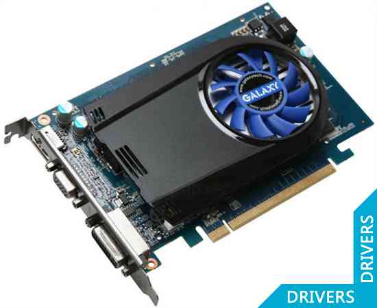 Видеокарта Galaxy GeForce GT220 1024MB DDR3