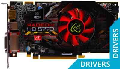 Видеокарта XFX Radeon HD 5770 1024 MB DDR5(HD-577X-ZNFA)