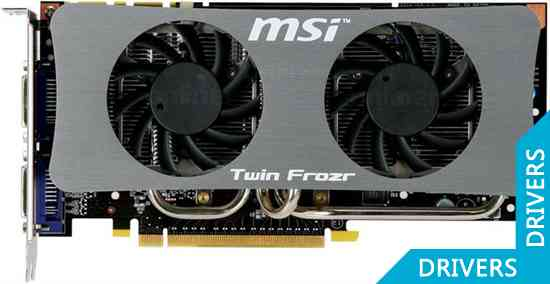 Видеокарта MSI N250GTS Twin Frozr 1G