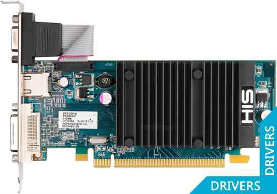 Видеокарта HIS HD 5450 Silence 1GB DDR3 (H545H1G)