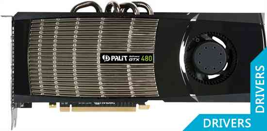 Видеокарта Palit GeForce GTX 480 1536MB (NE5TX480F09CB)
