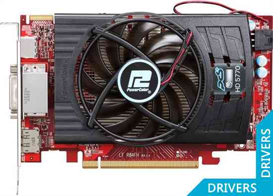 Видеокарта PowerColor PCS HD5770 1GB GDDR5 (AX5770 1GBD5-PP)