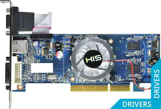Видеокарта HIS HD 4350 iFan 512MB DDR3 AGP (H435F512HA)