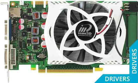Видеокарта Inno3D GeForce GTS 250 Green 1GB (N25C-4DDV-D3DX)