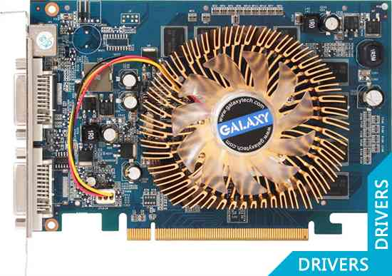 Видеокарта Galaxy GeForce 9500GT 512MB DDR2 (95TFE8DC1CXN)