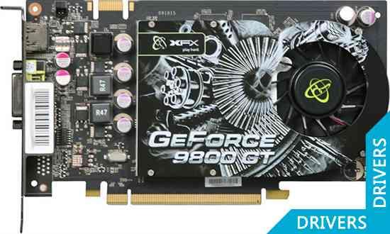 Видеокарта XFX GeForce 9800 GT 512MB DDR3 Standard (PV-T98G-YAF3)