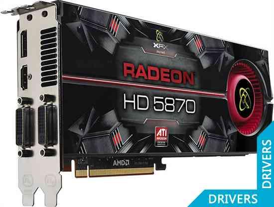 Видеокарта XFX Radeon HD 5870 1024 MB DDR5 DisplayPort XXX (HD-587A-ZNDA)