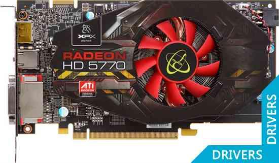 ���������� XFX Radeon HD 5770 1024 MB DDR5 DisplayPort (HD-577X-ZNFC)