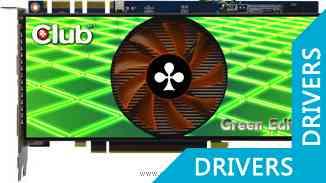 Видеокарта Club 3D GTS 250 Green Edition (CGNX-TS252GCI)