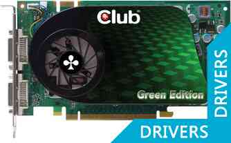 Видеокарта Club 3D 9800GT Green Edition (GNX-G9824G)
