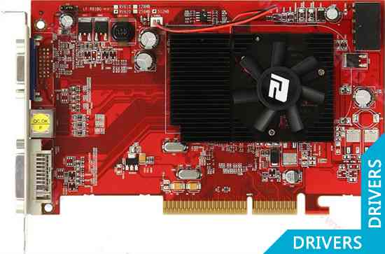 ���������� PowerColor HD3450 512MB AGP (AG3450 512MD2)