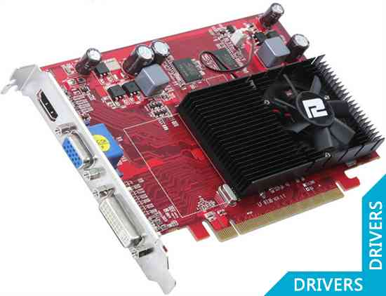 Видеокарта PowerColor HD 4650 1GB DDR2 (AX4650 1GBD2-H)
