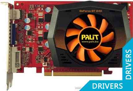 Видеокарта Palit GeForce GT 240 (1024MB GDDR5)
