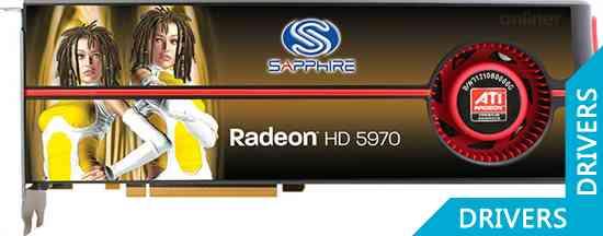 Видеокарта Sapphire HD5970 2GB GDDR5 PCIE (OC Edition)