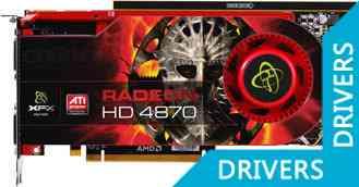 Видеокарта XFX Radeon HD 4870 1GB (HD-487A-ZWFL)
