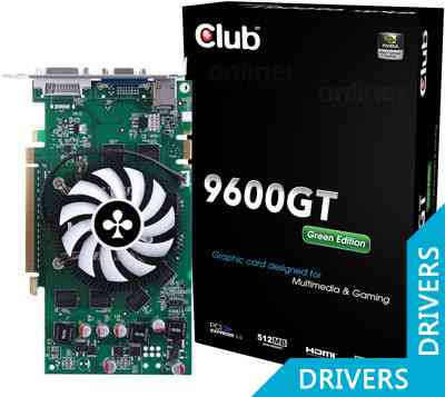 ���������� Club 3D 9600GT Green Edition (CGNX-G962GI)