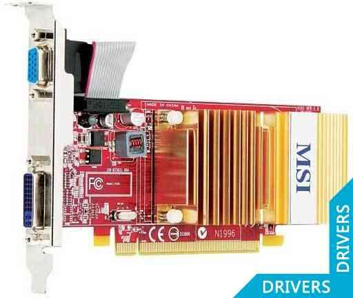 Видеокарта MSI Radeon R4350-D512H