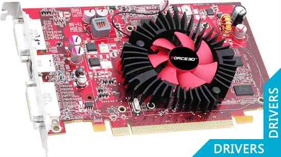 Видеокарта Force3D Radeon HD4650 512M
