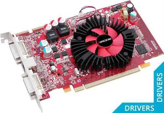 Видеокарта Force3D Radeon HD4670 512M