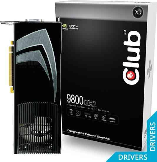 Видеокарта Club 3D GeForce 9800GX2 1024MB Dual GPU