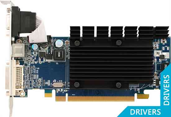 Видеокарта Sapphire Radeon HD 4350 256MB DDR2