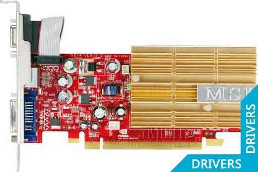 ���������� MSI GeForce NX8400GS-TD256EH