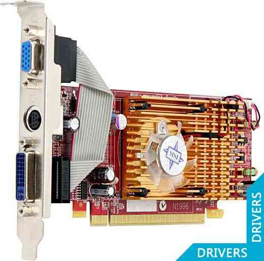 ���������� MSI Radeon R3450-TD512