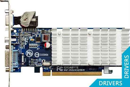 ���������� Gigabyte Radeon GV-RX345256H