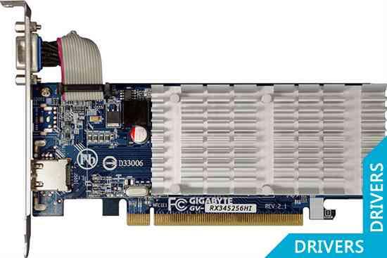 ���������� Gigabyte Radeon GV-RX345256HI