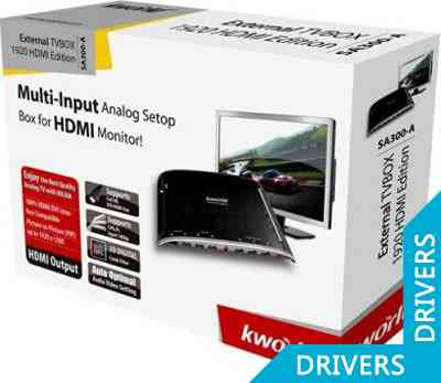 ТВ-тюнер KWorld External Srand Alone TVBox 1920ex HDMI Edition