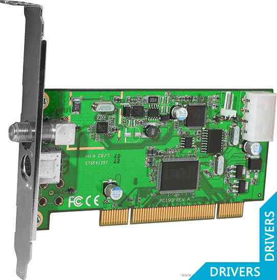 ТВ-тюнер KWorld PCI DVB-S TV Card Pro