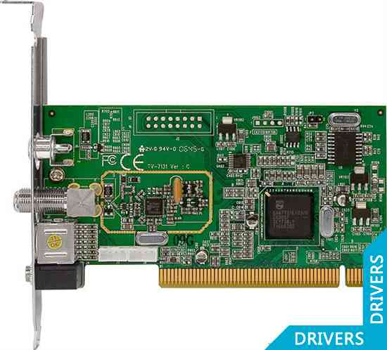 ТВ-тюнер KWorld PCI Analog TV Card
