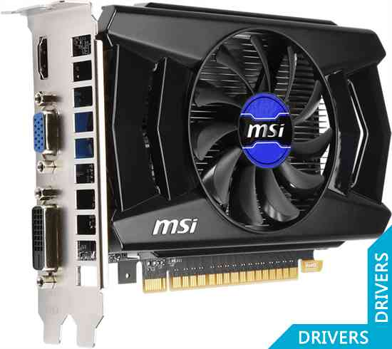Видеокарта MSI GeForce GT 730 OC 1024MB GDDR5 (N730K-1GD5/OC)
