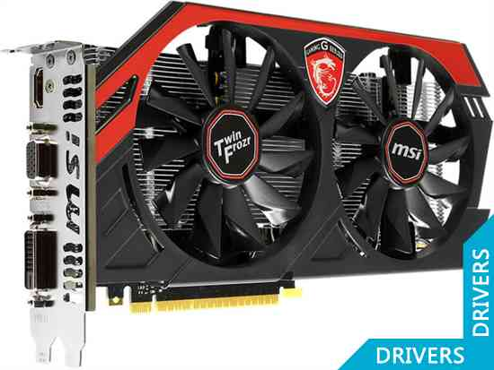 Видеокарта MSI GeForce GTX 750 Gaming OC 2GB GDDR5 (N750 GAMING 2GD5/OC)