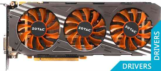 Видеокарта ZOTAC GeForce GTX 980 AMP! Edition 4GB GDDR5 (ZT-90204-10P)