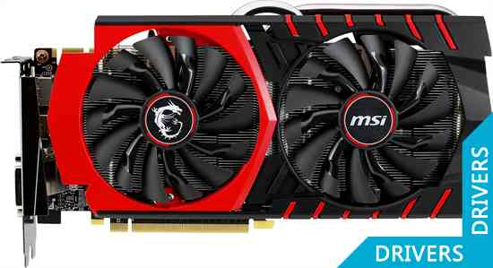 Видеокарта MSI GeForce GTX 970 Gaming 4GB GDDR5 (GTX 970 GAMING 4G)