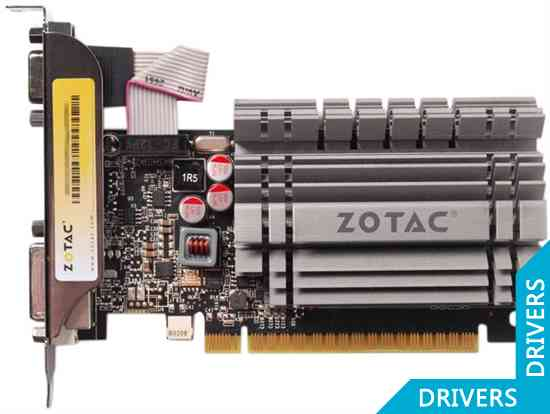 Видеокарта ZOTAC GeForce GT 720 ZONE Edition 2GB DDR3 (ZT-71201-20L)
