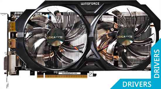 Видеокарта Gigabyte R9 285 WindForce 2 OC 2GB GDDR5 (GV-R9285WF2OC-2GD)