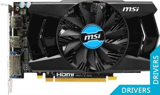 Видеокарта MSI R7 250X 2GB GDDR5 (R7 250X 2GD5)