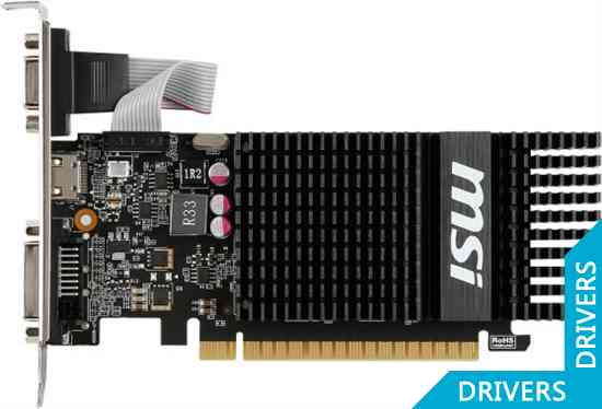Видеокарта MSI GeForce GT 720 1024MB DDR3 (N720-1GD3HLP)