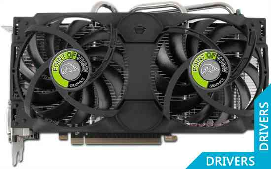 Видеокарта Point of View GeForce GTX 660 Ti 3GB GDDR5 (VGA-660i-A1-3072)