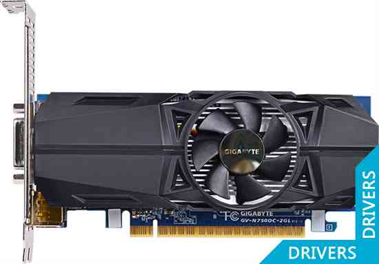 Видеокарта Gigabyte GeForce GTX 750 OC 2GB GDDR5 (GV-N750OC-2GL (rev. 1.0))