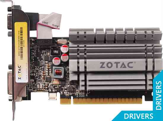 Видеокарта ZOTAC GeForce GT 730 2GB DDR3 (ZT-71105-10L)