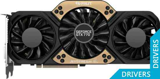 Видеокарта Palit GeForce GTX 770 JETSTREAM 2GB GDDR5 (NE5X770S1042-1045J)