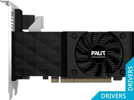 Видеокарта Palit GeForce GT 730 2GB DDR3 (NEAT7300HD41-1085F)
