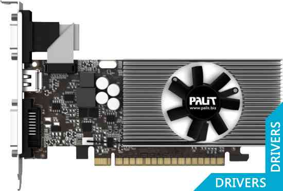 Видеокарта Palit GeForce GT 740 1024MB DDR3 (NEAT7400HD01-1070F)