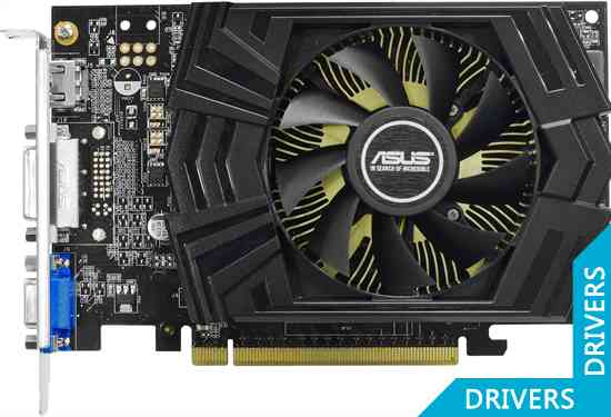 Видеокарта ASUS GeForce GTX 750 OC 2GB GDDR5 (GTX750-PHOC-2GD5)