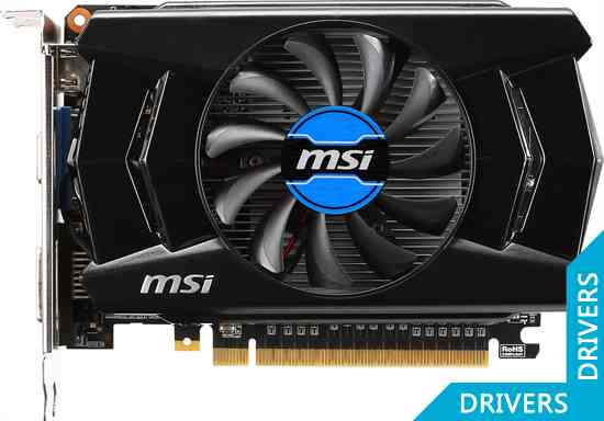 Видеокарта MSI GeForce GTX 750 OC 2GB GDDR5 (N750-2GD5/OC)