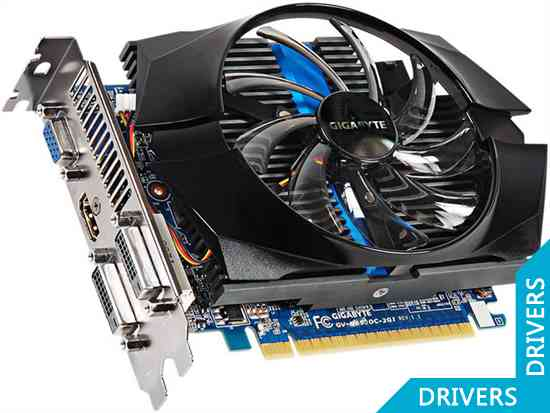 Видеокарта Gigabyte GeForce GTX 650 OC 2GB GDDR5 (GV-N650OC-2GI (rev. 1.1))